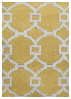 Rosenberry Rooms has everything imaginable for your child's room! Share the news and get $20 Off your purchase! (*Minimum purchase required.) Regency Rug in Yellow #rosenberryrooms