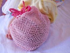 Crochet Adjustable Baby Hat Free Pattern