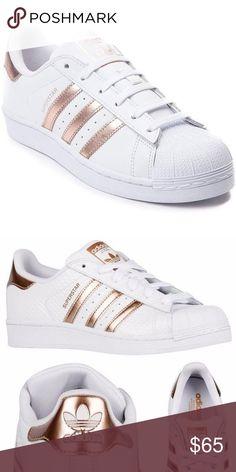 Rose gold white Super Star Adidas ??