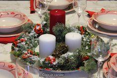 Centro tavola natalizio fai da te