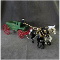 Sand And Gravel, Horse Drawn, Baby Rattle, Tin Toys, Fire Engine, Vintage Toys, Cast Iron, Board Games, Baby Strollers