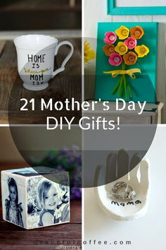 21 Mother's Day DIY Gifts! | Gracefulcoffee.com