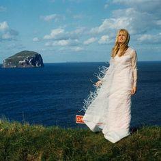 """Brigitte Bardot filming """"Two weeks in September"""" in Scotland…"""