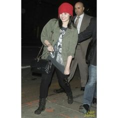 Arrives at the Good Morning America in New York April 10, 2013 ❤ liked on Polyvore