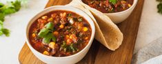 The ingredient list here might look a little long, but please don't let that stop you from trying this delectable vegan chili. There are only a few steps, and it is so chock full of vegetables, beans, and greens that all you need is some simple steamed grains or warm tortillas on the side to make this a very...