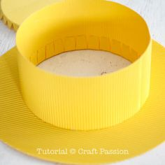 Quick and Easy DIY to make a Minions Hat with cardboards. Free templates available for immediate download. Including a felt Minions goggles as a bonus.