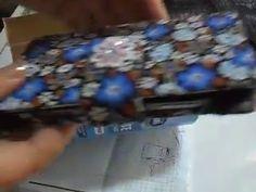 DIY..How to make a phone case no sew -cum sa faci o husa de telefon comp...