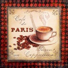 Cafe de Paris I ( Marie Elaine Cusson)