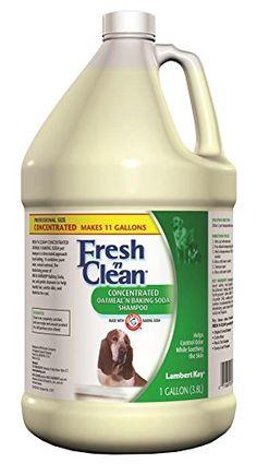 Lambert Kay Fresh'n Clean Oatmeal n Baking Soda Pet Shampoo, 1-Gallon -- More info could be found at the image url. #CatGrooming