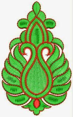 Vryhand tradisionele styl van Patch