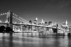 This high quality New York Brooklyn Bridge Skyline wallpaper is custom made to your dimensions. Easy to order and install plus FREE UK delivery within 2 to 4 working days. Wallpaper City, Bridge Wallpaper, Photo Wallpaper, Calendar Wallpaper, Brooklyn Bridge New York, Manhattan Bridge, Brooklyn Girl, Manhattan Skyline, Manhattan Nyc