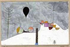 Paul Klee - Immagine invernale