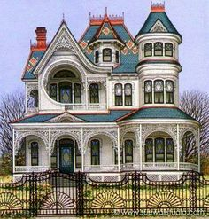 Cool house... a bit too big for me but love the look of it, especially the porch.