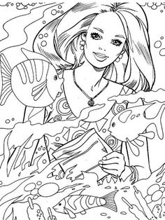 Barbie Coloring Page PagesColoring SheetsColouringColoring BooksParty InvitationsFree PrintableHolly