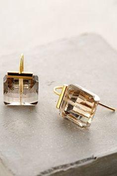 Cut Crystal Drops Earrings