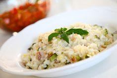 Ljubezni polna skleda: Bučkina rižota s panceto