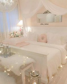Teen girl bedrooms, masterfully jaw dropping post decor number 4304692547 - more amazing collections on teen girl room ideas. Cute Bedroom Ideas, Girl Bedroom Designs, Room Ideas Bedroom, Small Room Bedroom, Girls Bedroom, Bedroom Decor, Small Rooms, Bedroom Inspo, Dream Rooms