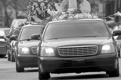 Laws for funeral processions differ by country, and by province or state within the country. Below is a list of the most general rules of funeral processions. * All vehicles traveling in a funeral procession must be accompanied by a licensed es. Happy Moments, Funeral, Creepy, In This Moment, Stock Photos, Explore, Car, Stuff To Buy, Image