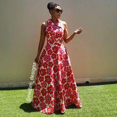 Long African Dresses, Ankara Long Gown Styles, Latest African Fashion Dresses, African Print Dresses, African Print Fashion, African Attire, African Wear, Chitenge Dresses, Beautiful Maxi Dresses