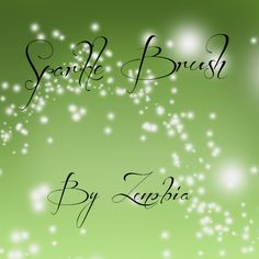 Sparkle Brush by Zenobiaraveheart210.deviantart.com on @deviantART