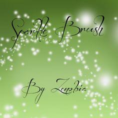 Sparkle Brush by Zenobiaraveheart210.deviantart.com on @deviantART