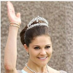 Lillian's favorite tiara ... Sweden