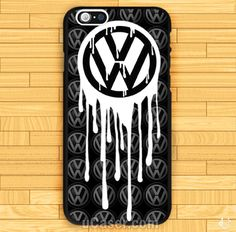 Custom VW Volkswagen Bloody Logo iPhone Cases cheap and best quality. *100% money back guarantee