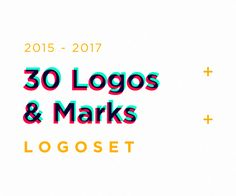 """Check out this @Behance project: """"30 Logos & Marks"""" https://www.behance.net/gallery/55959815/30-Logos-Marks"""