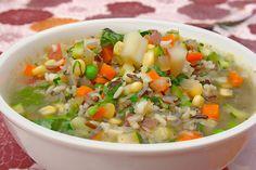 Spring Veggie Soup!