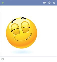 Lighten up the mood on the social network when you share this emoticon with a big smile. Facebook Emoticons, Funny Emoticons, Smileys, My Emotions, Feelings, Happy Smiley Face, Emoji Love, Cute Emoji Wallpaper, Emoji Faces