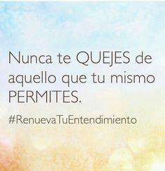 Si permites el maltrato, la indiferencia, la mentira, la infidelidad. .. pon la solución y deja de quejarte.  www.carolaestrada.com