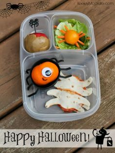 School Lunch Made Easy: Halloween Ideas #EasyLunchboxes #GlutenFree #AllergyFriendly