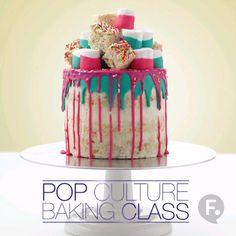 Pop Culture Baking: Krispy Treat Drip Cake