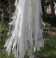 Detail of Native American inspired wedding dress by Hippie Bride...handmade and  one of a kind  OH MY, I'M IN LOVE!