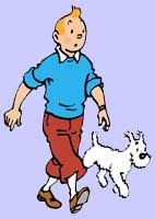 Snowy is the best dog ever.In cartoon form anyway