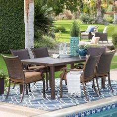 top rated best patio dining sets splash down pinterest