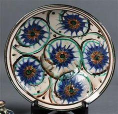 Lot: 4262480Herman A. Kahler Keramik fad og to vaser (3)