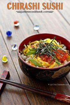 Quick & Easy Chirashi Sushi ちらし寿司 | Easy Japanese Recipes at JustOneCookbook.com