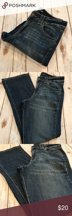 Lane Bryant - Gorgeous Bootcut Denim Jeans, 14 Lane Bryant - Gorgeous Bootcut Denim Jeans, women's size 14 average. In fantastic preowned condition, no issues to mention. Inseam is approximately 32 inches. Please be sure to check out all of my other boutique items to bundle and save. Same day or next business day shipping is guaranteed. Reasonable offers will be considered! Lane Bryant Jeans Boot Cut