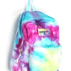Jansport DIY Tye Dye Backpack, available at Urban Outfitters