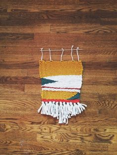 Woven Wall Hanging by Unicorns4Evaa on Etsy, $45.00