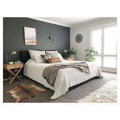 , Hauptschlafzimmer - décoration intérieure - Lilly is Love Bedroom Vintage, Home Decor Bedroom, Bedroom Green, Bedroom Inspirations, Home, Bedroom Makeover, Interior Design Bedroom, Home Bedroom, Apartment Decor