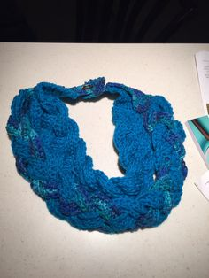 Double braid scarf