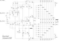 800 Watt using the final N-Channel and P-Channel MOSFET transistors. Final Mosfet Transistor uses the series for N-Channel and for P-Channel. This power amplifier is very suitable for the Public Address audio system. Class D Amplifier, Stereo Amplifier, Electronic Schematics, Electronic Circuit, Power Supply Circuit, Rules For Kids, Subwoofer Speaker, Circuit Projects, Circuit Diagram