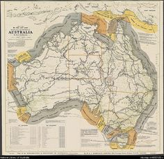H.E.C. Robinson Ltd The discovery and exploration of Australia, 1519 to 1901 by sea and land [cartographic material]