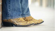 Passende Stiefel für Jeans mit Straight Leg