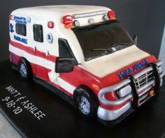 Ambulance Cake | Shared by LION