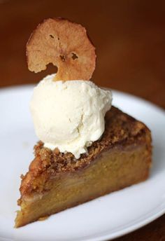 Apple Pumpkin Cake. A lovely, and more healthy fall dessert.