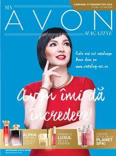 Catalog My Avon Magazine Campania 12 2016 cu Programe Motivationale si Noutati…