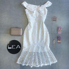 Summer Wear, Summer Outfits, Summer Dresses, Lace Dress, White Dress, Trumpet Skirt, Ankara Styles, White Outfits, African Dress